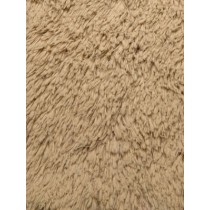 Camel Shaggy Cuddle Fabric - 1 Yd