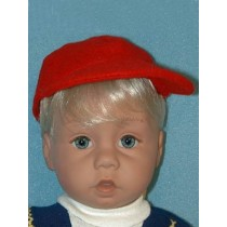 "Cap - Red Baseball for 19""-24"" Dolls"