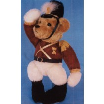 """Captain of the Guard 15"""" Soldier Bear"""