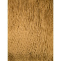 Caramel Luxury Shag Fur - 1 Yd