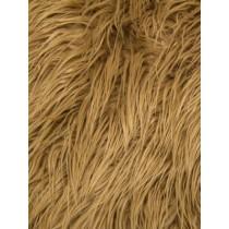 Caramel Mongolian Fur - 1 Yd