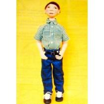 Carl Lawrence Cloth Doll Pattern