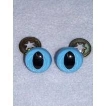 Cat Eye - 12mm Blue Pkg_100