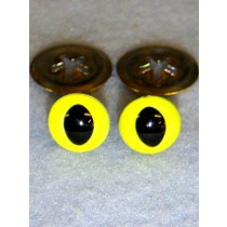 Cat Eye - 12mm Bright Yellow Pkg_100