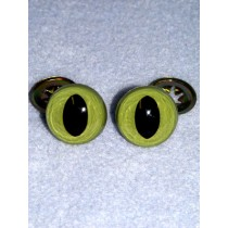 Cat Eye - 12mm Green Pkg_100
