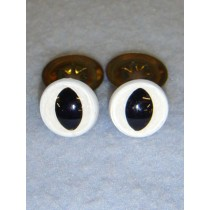 Cat Eye - 12mm White Pkg_100