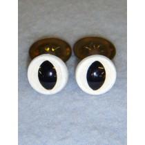 Cat Eye - 12mm White Pkg_100