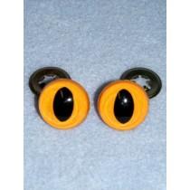 Cat Eye - 12mm Yellow Pkg_100
