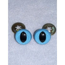 Cat Eye - 15mm Blue Pkg_100