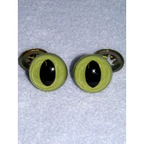 Cat Eye - 15mm Green Pkg_100