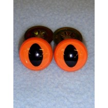 Cat Eye - 15mm Orange Pkg_100