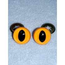 Cat Eye - 15mm Yellow Pkg_100