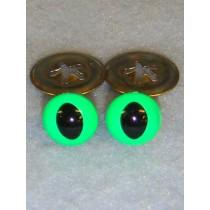 Cat Eye - 7.5mm Bright Green Pkg_100
