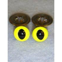 Cat Eye - 7.5mm Bright Yellow Pkg_100