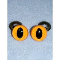 Cat Eye - 9mm Yellow Pkg_100