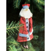 Charles Whimsical Santa Ornament Pattern