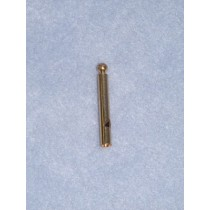 "Charm-Gold Thin Whistle-1 1_2"" Pkg_12"