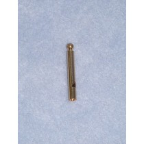 Charm-Gold Thin Whistle-1 1_2""