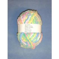 Chenille Yarn - Baby - 2 oz Polyester