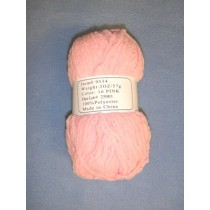 Chenille Yarn - Light Pink - 2 oz Polyester