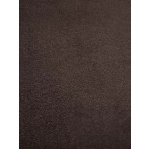 Chocolate Cuddle Suede Fabric - 1 Yd