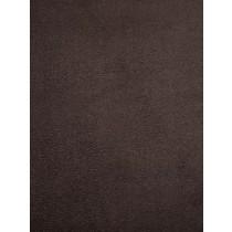 Chocolate Cuddle Suede Fabric - 1 Yd