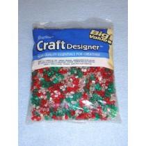 Christmas Tri-Beads 1180 pcs
