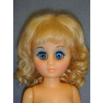 "Collette Wig 6-7"" Light Blond Mohair"
