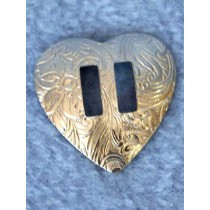 "Concho - Heart - 1"" Pkg_12"
