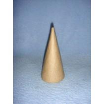 """Cone - Paper Mache - 4"""""""