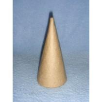 """Cone - Paper Mache - 7"""""""