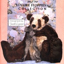 Copper Panda Pattern - 3 Ft Tall