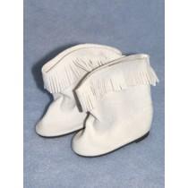 """Cowboy Boot - 3"""" White"""