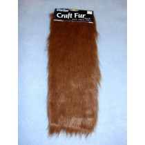 "Craft Fur - Brown 9"" x 12"