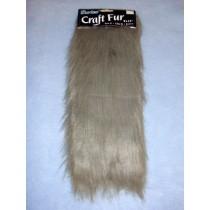 "Craft Fur - Gray 9"" x 12"""