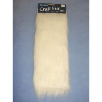 "Craft Fur - White 9"" x 12"