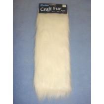 "Craft Fur - White 9"" x 12"
