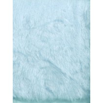 Cuddle Blue Short Pile Fur Fabric