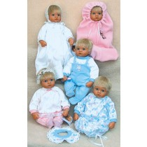 """Cuddly Cute Clothes Pattern 17-18"""" Dolls"""