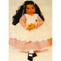 Dahnia Cloth Doll Pattern