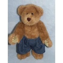 """Denim Boxer Shorts for 12"""" Bear"""