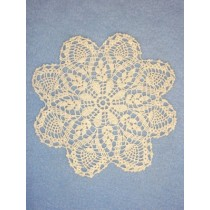 "Doily - Pineapple - 6"" Natural"
