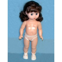 "Doll - 13"" Brown Hair"