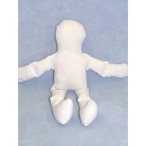 """Doll - Muslin - 12"""" White"""