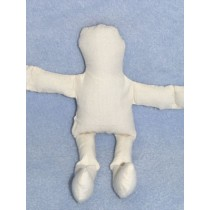 "Doll - Muslin - 5"" Off-white"