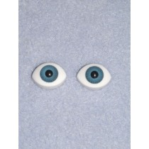 Doll Eye - Paperweight - 12mm Blue