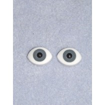 Doll Eye - Paperweight - 16mm Gray