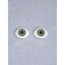 Doll Eye - Paperweight - 16mm Green
