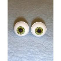 Doll Eye - Real Eyes - 16mm - Green (Ocean)