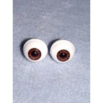 Doll Eye - Real Eyes - 16mm  Brown (Tiger Eye)